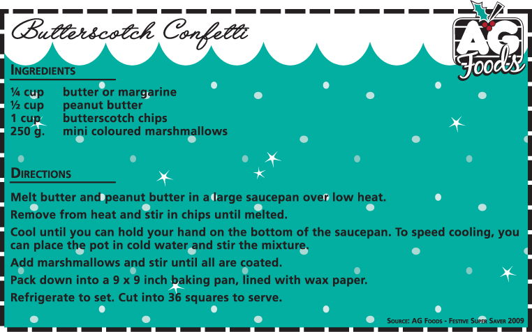 butterscotch confetti food how to make it